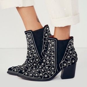 Jeffrey Campbell x Free People After Dark Booties